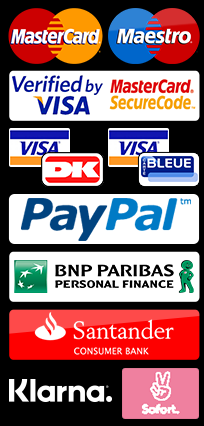 payment types / Zahlungsmethoden
