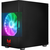 MINI GAMER PC BLOODBOIL V13 (Design: AEROCOOL Atomic V2 RGB) - 1