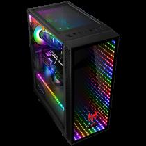 PC GAMING MINECRAFT V34 (Design: Kolink Observatory black RGB) - 1