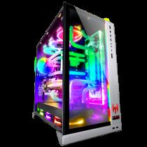 PC WATER-COOLED HEROES OF NEWERTH V9 (Design: LIAN LI O11Dynamic argent RGB) - 1