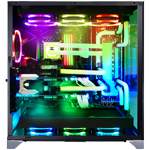 WATER-COOLED PC FINAL STAND V16 (Design: LIAN LI O11Dynamic silver RGB) - 1