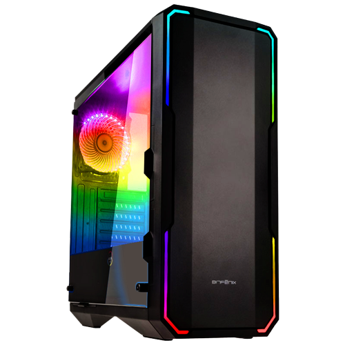 XTREME ZOCKER PC DIABLO V13 BITFENIX Enso schwarz RGB