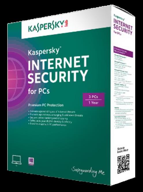 KASPERSKY Internet Security 2018 / 3 Utilisateurs