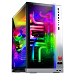 WATER-COOLED PC FINAL STAND V16 (Design: LIAN LI O11Dynamic silver RGB) - 2