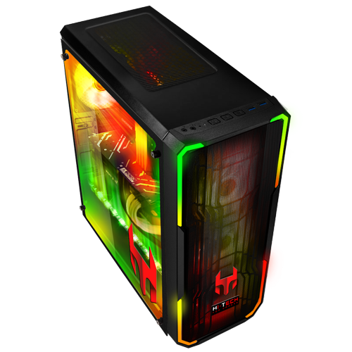 Xtreme Gamer Pc Diablo V16 Bitfenix Enso Black Rgb Gaming Pcs Hi