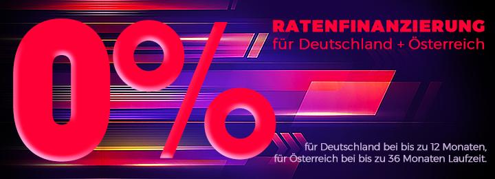 0% Ratenfinanzierung D+Ö 1