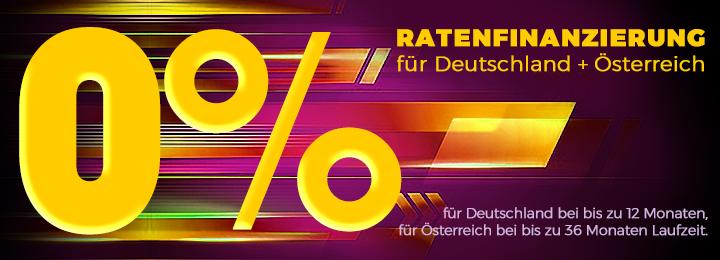 0% Ratenfinanzierung D+Ö 2