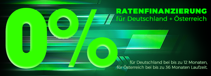 0% Ratenfinanzierung D+Ö 3