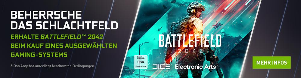 Banner Nvidia GF Battlefield 2042