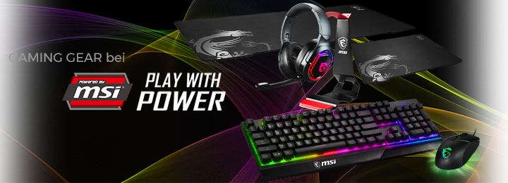 Banner msi gaming gear