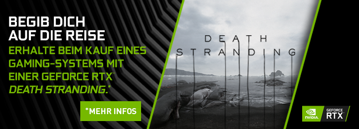 Banner NV GF RTX Death Stranding Bundle