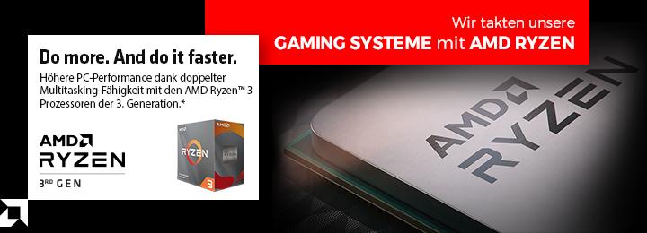 Banner AMD 3rd gen Ryzen 3