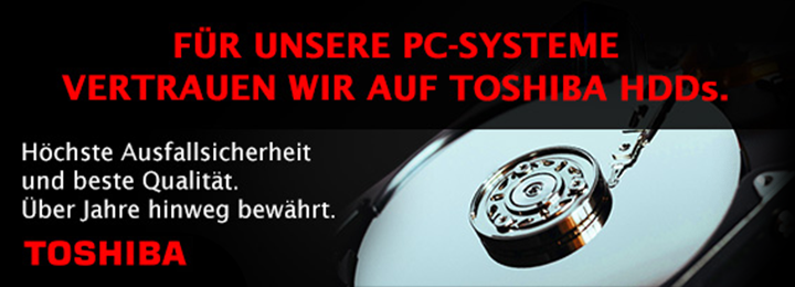 Banner Toshiba HDDs
