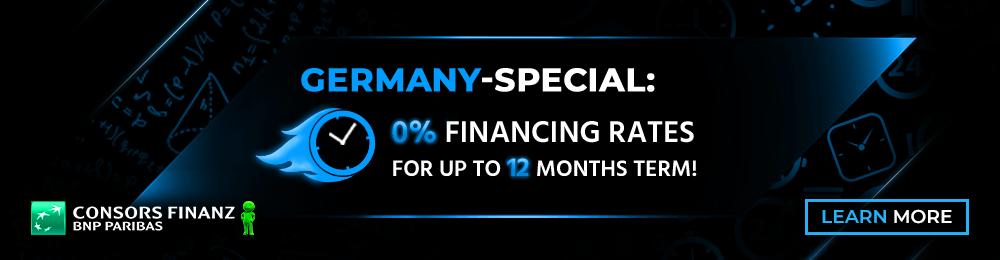 Banner Ratenfinanzierung Consors Aktion