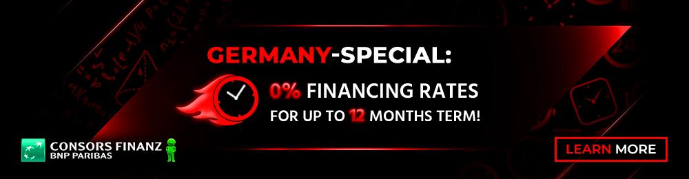 Banner Ratenfinanzierung Consors Aktion 2