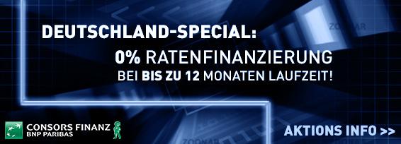 Banner Ratenfinanzierung Consors Aktion 4