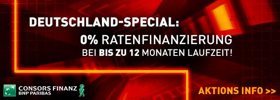 Banner Ratenfinanzierung Consors Aktion 3