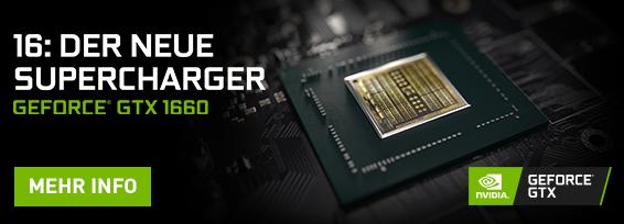 Banner NVIDIA® GeForce® GTX 1660