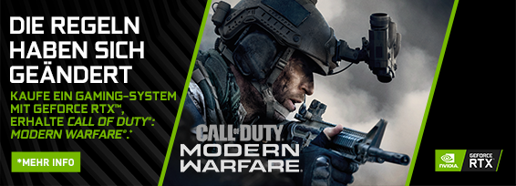 Banner NVIDIA Call of Duty: Modern Warfare Bundle