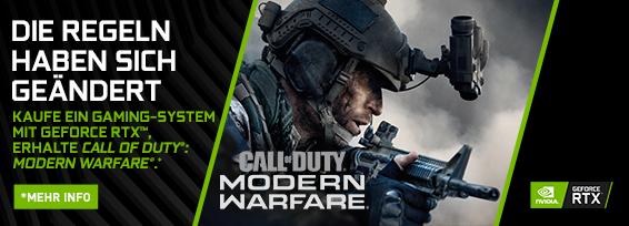 Banner NVIDIA Call of Duty: Modern Warfare Bundle