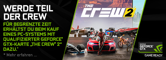 Banner NVIDIA The Crew 2 Bundle