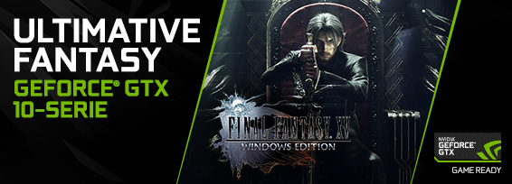 Banner NVIDIA Final Fantasy XV-WinEd