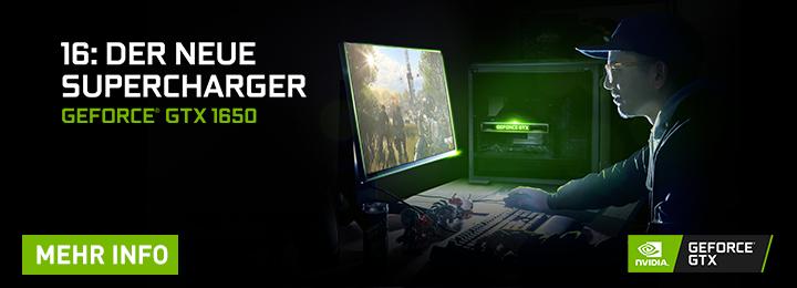Banner Nvidia GeForce GTX 1650 Desktop