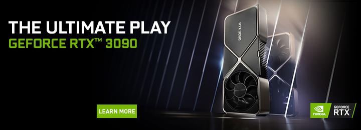Banner Nvidia GF RTX 3090
