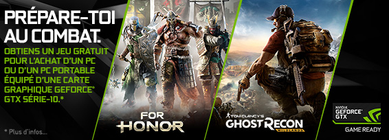 Banner NVIDIA For Honor/Ghost Recon