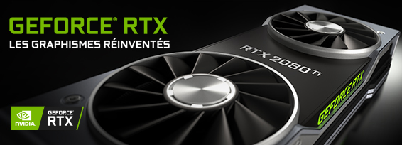 Banner NVIDIA GF RTX 20-Serie