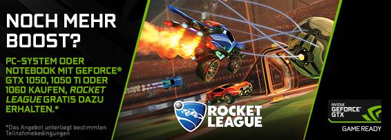 Banner NVIDIA Rocket League