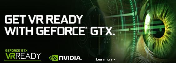 Banner NVIDIA VR