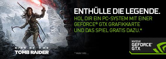 Banner NVIDIA Tomb Raider
