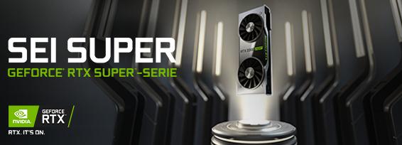 Banner Nvidia GF RTX 20-series SUPER