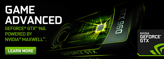 Banner NVIDIA 960