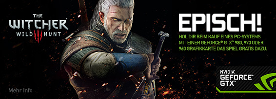 Banner NVIDIA Witcher III