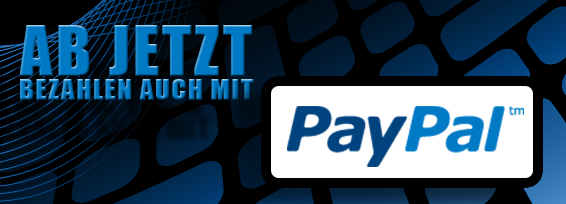 Infobanner Paypal