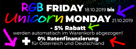 Banner Promo RGB Friday - Unicorn Monday