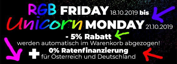 Banner Promo RGB Friday - Unicorn Monday